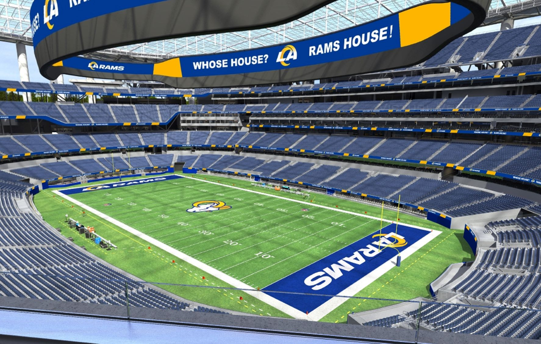 SoFi Stadium will feature state-of-the art luxury suites